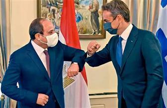 أبرز ما جاء في كلمة الرئيس السيسي خلال المؤتمر الصحفي المشترك مع نظيره القبرصي ورئيس وزراء اليونان
