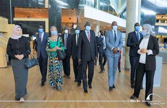 وزير التعليم العالي بجنوب السودان يزور مكتبة الإسكندرية| صور