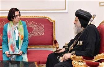 البابا تواضروس يستقبل سفير مصر في موريشيوس|صور
