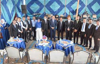 رئيس جامعة سوهاج يكرم الفائزين في المسابقة الثقافية | صور