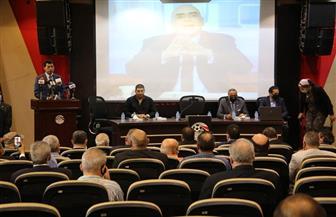 وزير الرياضة يشهد حفل تأبين الراحل عزمي مجاهد | صور