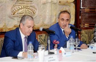عبد المحسن سلامة: نعمل على تطوير جميع الإدارات داخل المؤسسة واستثمار الأصول | صور
