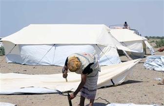 الهلال الأحمر الإماراتي يستقبل نازحي الدريهمي ومناطق خطوط التماس بالحديدة اليمنية | صور