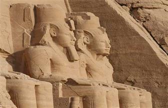 بمناسبة تعامد الشمس.. وثائق نادرة عن عمليات ترميم وحماية معبد أبو سمبل  | صور