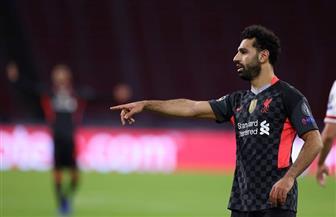 محمد صلاح على دكة بدلاء ليفربول أمام ميتلاند