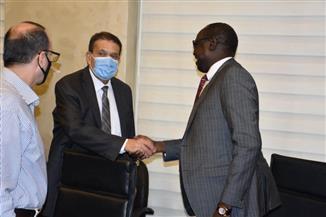 وزير ري جنوب السودان في زيارة تفقدية للعاصمة الإدارية الجديدة| صور