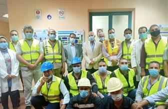 محطة مياه دمنهور 2 تحصل على شهادة الجودة العالمية TSM في الإدارة والتشغيل| صور