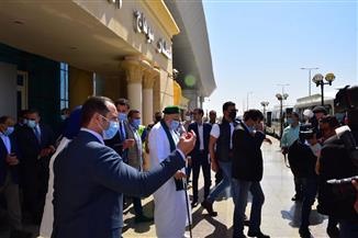 محافظ سوهاج يستقبل وزراء التنمية والتخطيط والتضامن والشباب ويؤكد: الزيارة تعكس الاهتمام بالصعيد