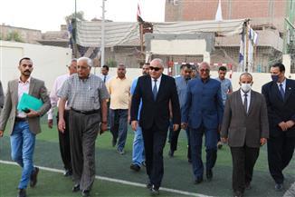 محافظ قنا يتابع تجهيز مقرات اللجان استعدادا لانتخابات مجلس النواب   صور