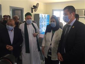 ٤ وزراء ورئيس أمناء مصر الخير ومحافظ سوهاج يفتتحون مدرسة عرب بخواج الإعدادية | صور