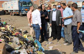 محافـظ المنوفية يتفقد العمل بمصنع تدوير القمامة بشبين الكوم   صور