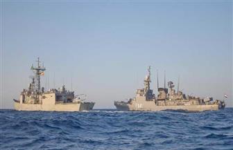 القوات البحرية المصرية والإسبانية تنفذان تدریبا بحريا عابرا فى نطاق الأسطول الجنوبى بالبحر الأحمر