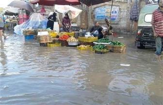 أمطار غزيرة على المناطق الشمالية بكفرالشيخ تغرق الشوارع وتقطع الكهرباء | صور