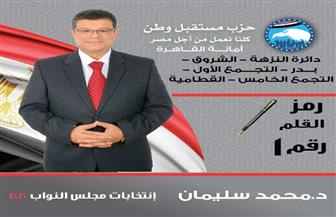 البرنامج الانتخابي للدكتور محمد سليمان المرشح لمجلس النواب
