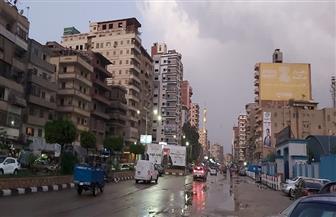 المنصورة تستقبل الشتاء بأمطار خفيفة | صور