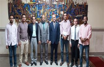 رئيس جامعة الأقصر يستقبل وفد وزارة التخطيط والتنمية| صور