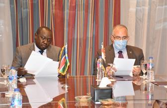 وزير الري ونظيره بجنوب السودان يشاركان في اجتماع اللجنة المشتركة لمشروعات التعاون الفني| صور