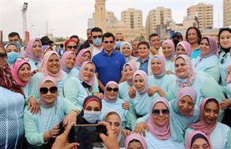 وزير الشباب والرياضة يشهد المهرجان الرياضي المتكامل للمرأة ببشاير الخير بالإسكندرية