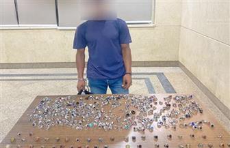 ضبط 420 خاتما من الفضة مهربة وغير مدموغة بحوزة شخص بالقاهرة