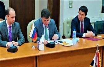 اوسماكوف: اهتمام كبير من الشركات الروسية للاستثمار في السوق المصري