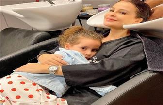 أحدث ظهور لكارول سماحة برفقة ابنتها