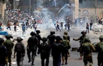 إصابة عشرات الفلسطينيين بالاختناق خلال مواجهات مع الاحتلال الإسرائيلي وسط الخليل