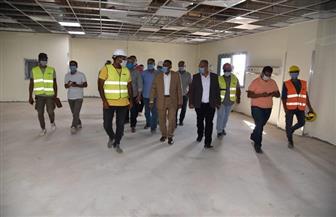 محافظ مطروح: الانتهاء من إنشاء مستشفى سيدي براني الجديد ديسمبر المقبل | صور