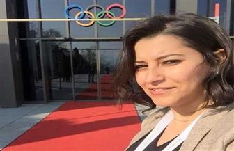 انتخاب عبير عيسوي لاعبة التايكوندو الأوليمبية لعضوية المكتب التنفيذي للاعبين الأوليمبيين