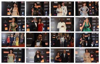 بدء توافد النجوم على حفل افتتاح مهرجان الجونة | صور