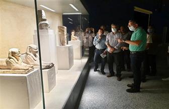 وزير السياحة والآثار يتفقد متحف شرم الشيخ للوقوف على آخرمستجدات الأعمال   صور