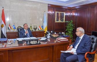 محافظ الإسكندرية: اهتمام مباشر من القيادة السياسية بتطوير العاصمة الثانية لمصر