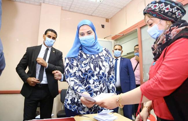 وزيرة التضامن توجه رسالة للمواطنين «المشاركة حق لك وواجب عليك | فيديو