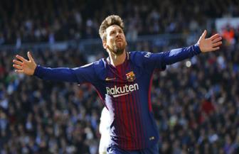 ليونيل ميسي يقود هجوم برشلونة ضد ريال مدريد في الكلاسيكو