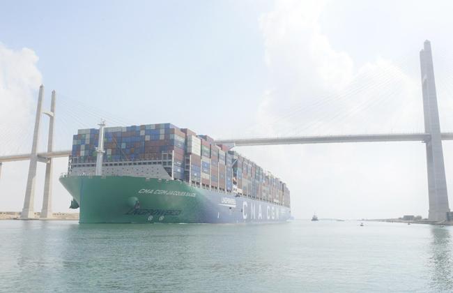 أكبر سفينة حاويات في العالم تعمل بالغاز الطبيعي
