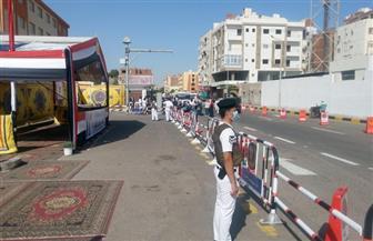 فتح جميع لجان البحر الأحمر في موعدها المحدد وسط إجراءات احترازية مشددة | صور