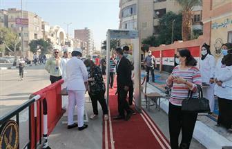 بدء التصويت وسط إجراءات أمنية واحترازية مشددة بلجان الفيوم | صور