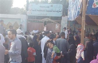 توافد المواطنين على لجان الانتخابات بدائرة العياط والبدرشين بجولة الإعادة
