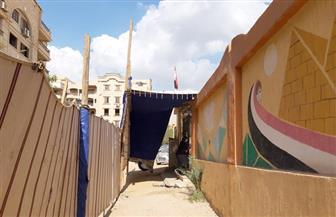 استمرار توافد الناخبين على اللجان الانتخابية بحدائق الأهرام | صور