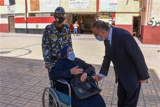 محافظ الإسكندرية: مقاعد متحركة لذوي الهمم وكبار السن باللجان الانتخابية | فيديو