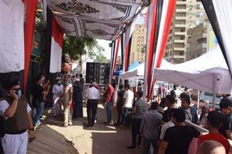 استمرار توافد الناخبين على لجان مجمع الشيخ الشعراوي بفيصل | صور
