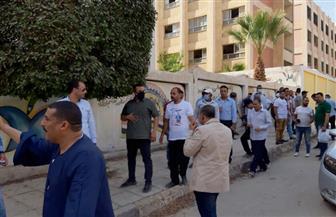 توافد كبير للشباب على اللجنة الانتخابية بحدائق الأهرام | صور