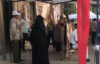 السيدات يتصدرن المشهد في الساعات الأولى من انتخابات النواب بالمهندسين | فيديو