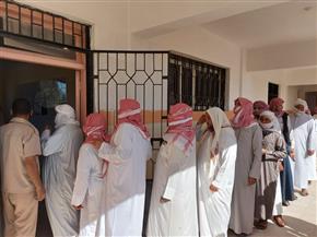 تزايد الإقبال في لجان القرى بمحافظة البحيرة | صور