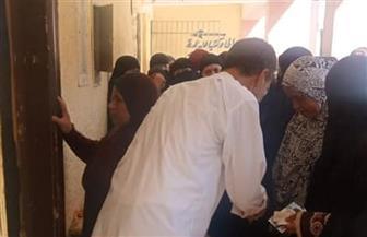 """استمرار توافد المواطنين للمشاركة في انتخابات """"النواب"""" بمدرسة منشية البكري بالجيزة   صور"""