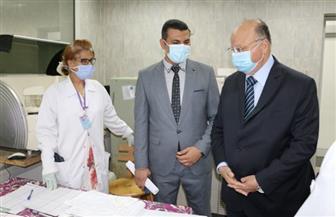 محافظ القاهرة يصرف مكافأة للطاقم الطبي والتمريض بمستشفى المنيرة العام