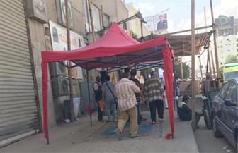 """ناخبون يدلون بأصواتهم في الجيزة على أنغام """"ياحبيبتي يا مصر""""   فيديو"""