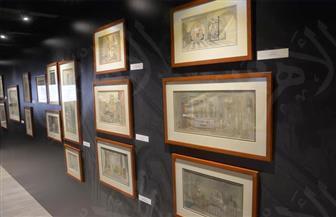 افتتاح معرض «أنسي أبو سیف» في الجونة بحضور بشرى وسعيد تغماوي | صور