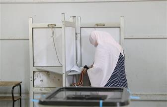 استمرار توافد الناخبين للمشاركة في انتخابات النواب بلجان الهرم والعمرانية