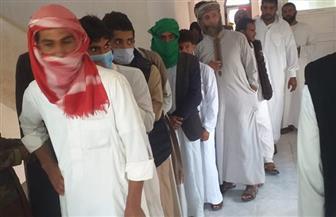 إقبال على اللجان الانتخابية بمركز  السلوم وبراني وسيوة في مطروح | صور