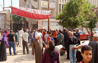 إقبال متوسط في اليوم الأول للانتخابات في بني سويف | صور